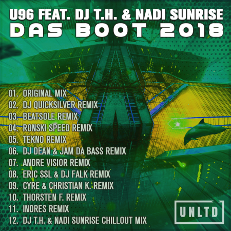 U96 feat. DJ T.H. & Nadi Sunrise – Das Boot 2018